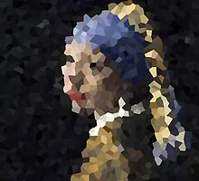 Pixelated Girl with a Pearl Earring by raquelsanchis
