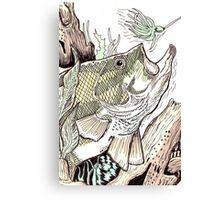 Unique Card Art 44 Canvas Print