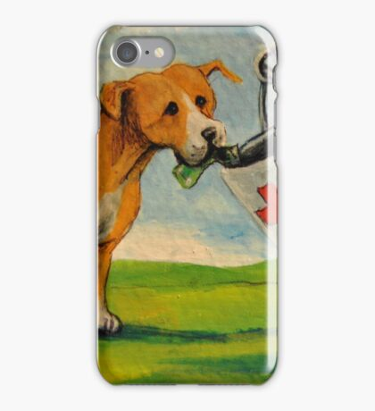 Selfish Pit Bull Dogs!~Whimsical~Sarcasm~Love~Dog iPhone Case/Skin