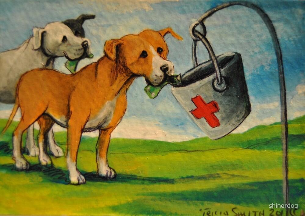 Selfish Pit Bull Dogs!~Whimsical~Sarcasm~Love~Dog by shinerdog