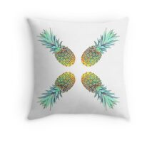 pineapples crux Throw Pillow