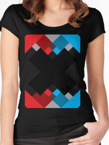 The - X BLACK Women's Fitted Scoop T-Shirt