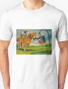 Selfish Pit Bull Dogs!~Whimsical~Sarcasm~Love~Dog Unisex T-Shirt