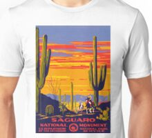 Saguaro National Park Vintage Travel Poster Unisex T-Shirt