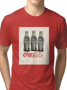 Andy Warhol - Coca Cola Bottles Tri-blend T-Shirt