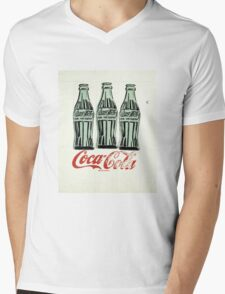 Andy Warhol - Coca Cola Bottles Mens V-Neck T-Shirt