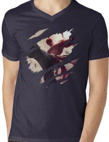 The Blind Monk Mens V-Neck T-Shirt