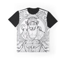 Sikh Macaque Graphic T-Shirt