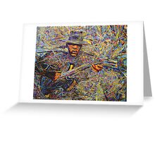 Birth of the Blues Greeting Card
