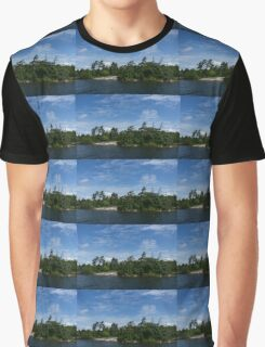 Windswept Pines - Georgian Bay Canadian Landscapes Graphic T-Shirt