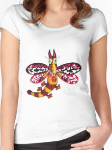 CatMoth Women's Fitted Scoop T-Shirt