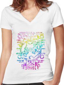 Mew - Pokémon Women's Fitted V-Neck T-Shirt