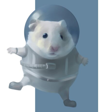 Hamster Astronaut  Sticker