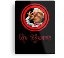 Up Bjours Metal Print