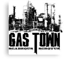 Gas Town Canvas Print