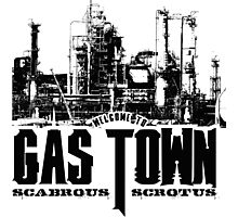 Gas Town Photographic Print