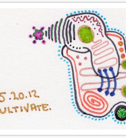 Cultivate Sticker