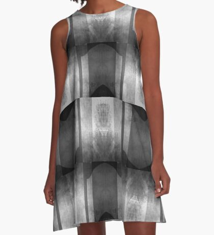 Concrete Brutal A-Line Dress