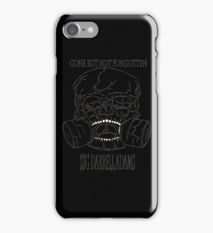 Fallen Soldier  iPhone Case/Skin