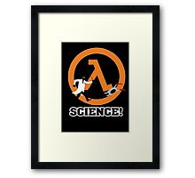 Science! Framed Print