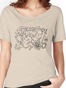 Zelda Inspired Sketch Women's Relaxed Fit T-Shirt