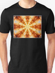 Undulating Tunnels of Molten Light - Abstract Fractal Art T-Shirt