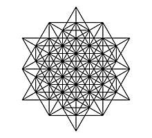 Star tetrahedron Photographic Print