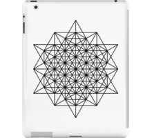 Star tetrahedron iPad Case/Skin
