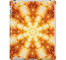Undulating Tunnels of Molten Light - Abstract Fractal Art iPad Case/Skin