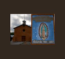 Mission Church at Velarde New Mexico Unisex T-Shirt