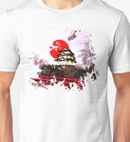 Japan Hirosaki Castle Unisex T-Shirt