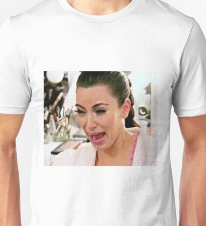 kim kardashian crying Unisex T-Shirt