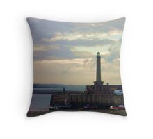 Margate Harbour I Throw Pillow