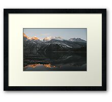 Mountain Mirror - Landscape Photography Framed Print