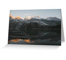 Mountain Mirror - Landscape Photography Greeting Card