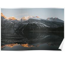 Mountain Mirror - Landscape Photography Poster