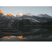 Mountain Mirror - Landscape Photography Photographic Print