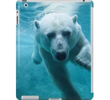 Polar Bear Swimming iPad Case/Skin