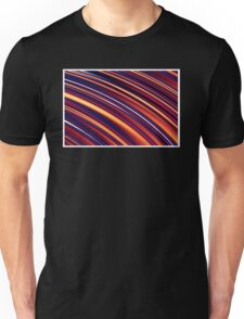 Color and Form Abstract - Curved Slope Warm Tones  Unisex T-Shirt