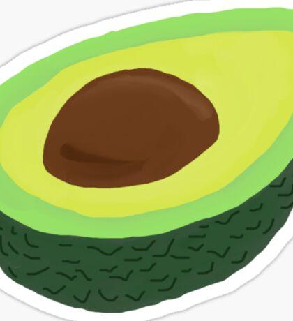 Open Avocado Sticker