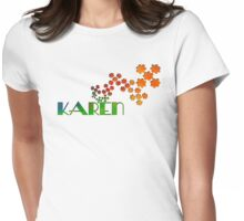 The Name Game - Karen Womens Fitted T-Shirt