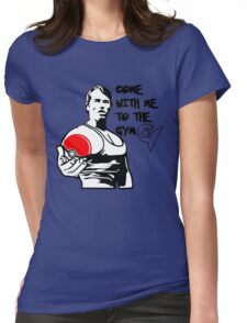 """""""Come With Me To The Gym"""" Arnold Pokemon  Womens Fitted T-Shirt"""