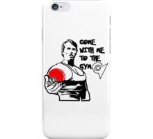 """Come With Me To The Gym"" Arnold Pokemon  iPhone Case/Skin"