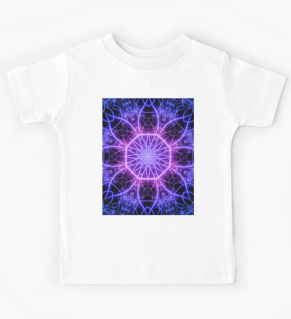 Intranet  - Symbolic Abstract Fractal Art   Kids Tee