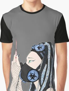 Cyber Blue Graphic T-Shirt