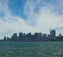 San Fran from the  Water Sticker