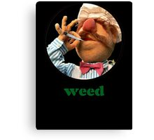 Weedish Chef Canvas Print