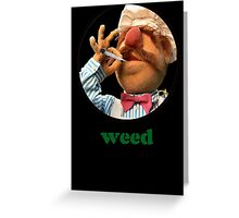 Weedish Chef Greeting Card