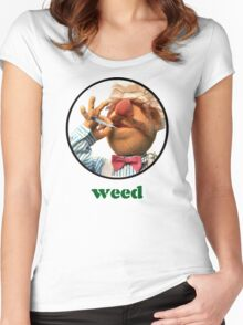 Weedish Chef Women's Fitted Scoop T-Shirt