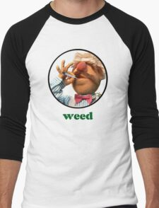 Weedish Chef Men's Baseball ¾ T-Shirt